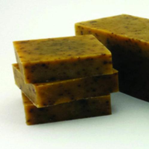 Cinnamon Latte Scrub Cold Processed Soap