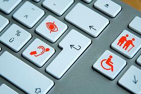 keyboard displaying return key