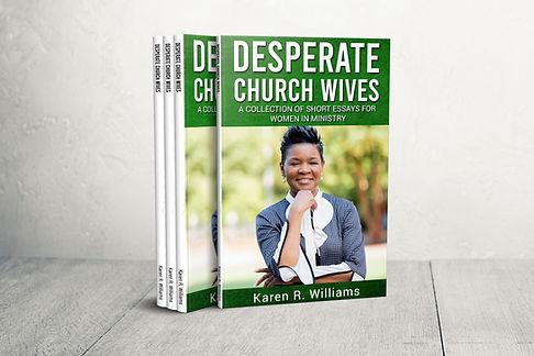 Desperate Church Wives Book Picture