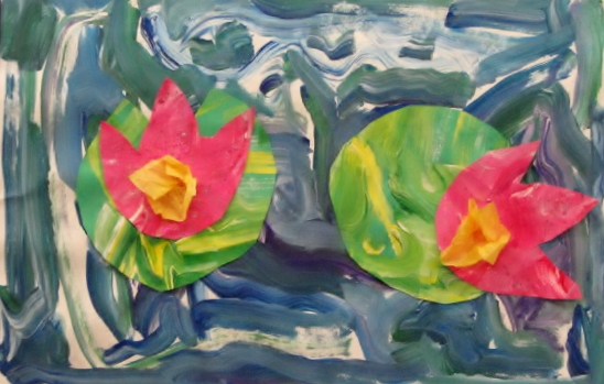 Water Lillies by Dax Robinson 1st k-1