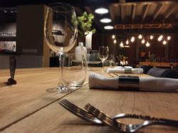 De sfeer van onze Chef's Table