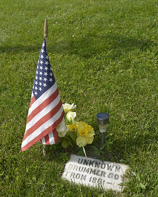 unknown drummer grave.JPG