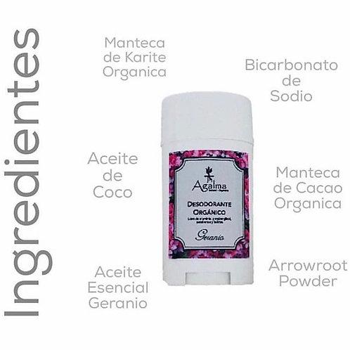 Desodorante orgánico