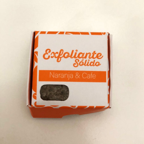 EXFOLIANTE SÓLIDO NARANJA 🍊 CAFÉ