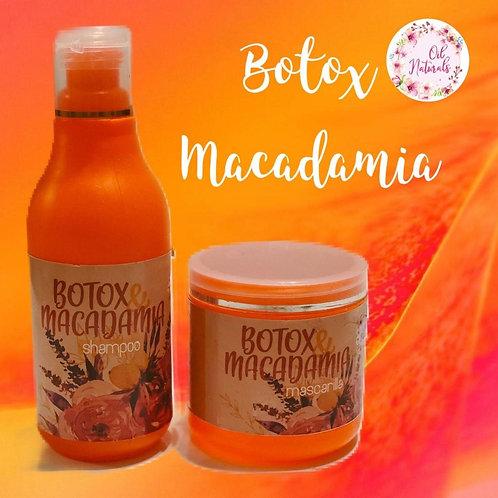 SHAMPOOO & MASCARILLA BOTOX MACADAMIA