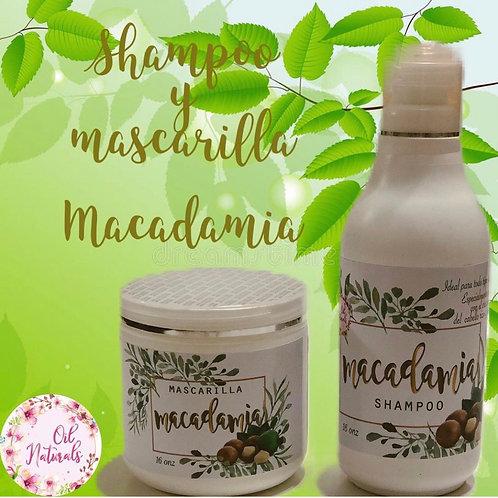 SHAMPOO & MASCARILLA DE MACADAMIA