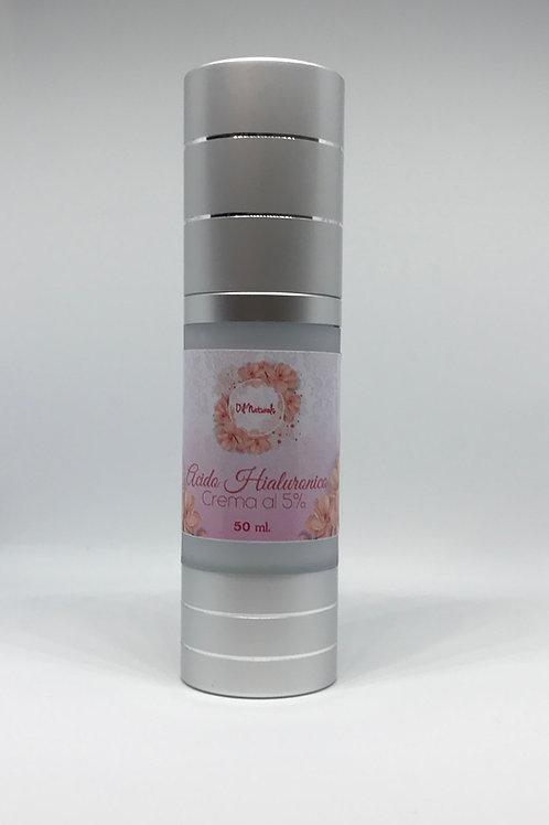 Ácido hialuronico en crema al 5%