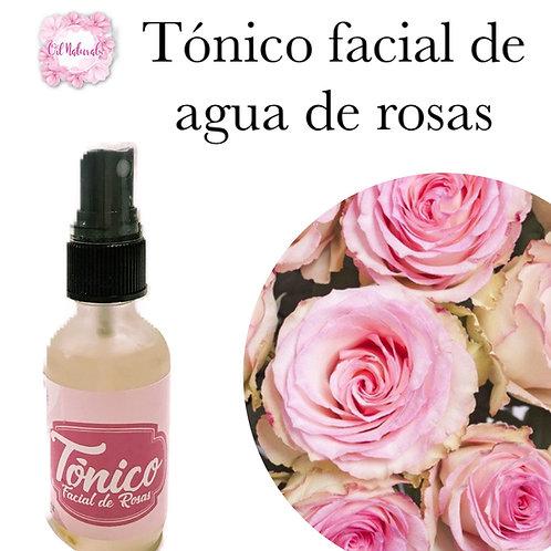 TÓNICO FACIAL DE AGUA DE ROSAS 2oz