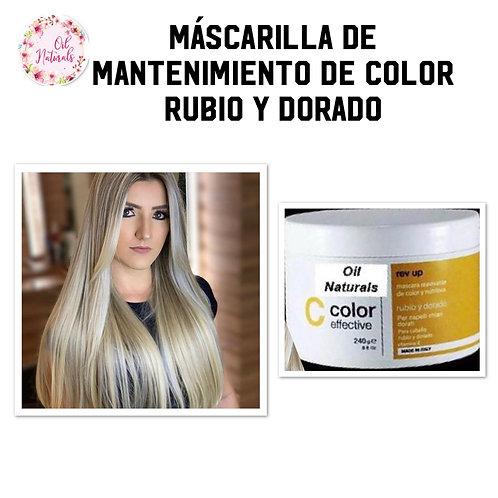 MASCARILLA CABELLO RUBIO/ DORADO