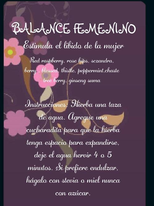 BALANCE FEMENINO #1 ( estimula el lívido de la mujer)