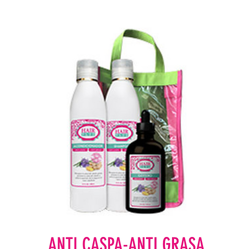 HAIR PLUS ANTIGRASA Y ANTI-CASPA