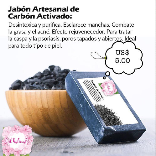 JABÓN DE CARBÓN ACTIVADO