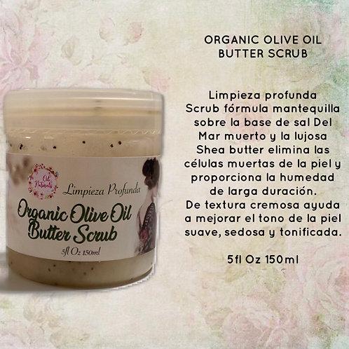 ORGANIC OLIVE OIL BUTTER SCRUB