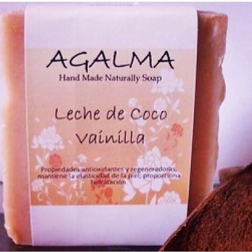 AGALMA JABON LECHE DE COCO VAINILLA