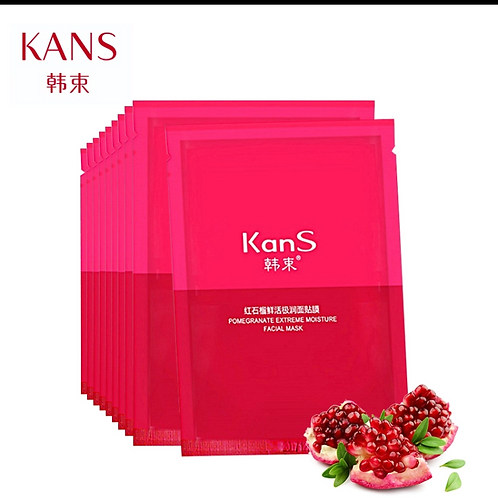 FACIAL MASK POMEGRATE