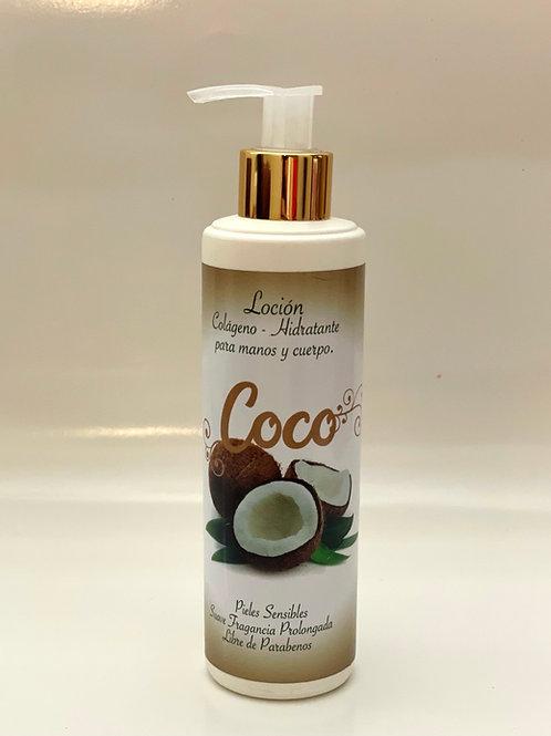 LOCIÓN DE COCO
