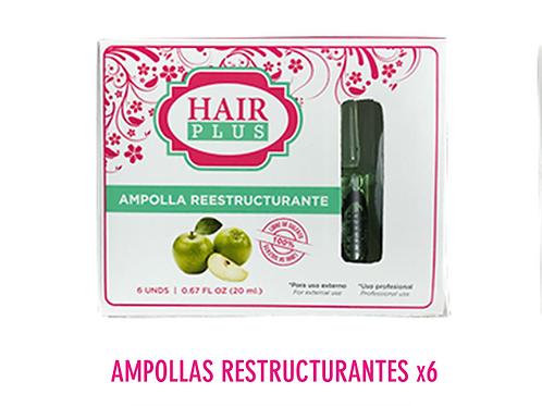 AMPOLLA REESTRUCTURANTE 6 unidades