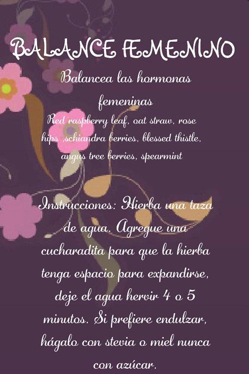 BALANCE FEMENINO #3 ( balancea las hormonas)
