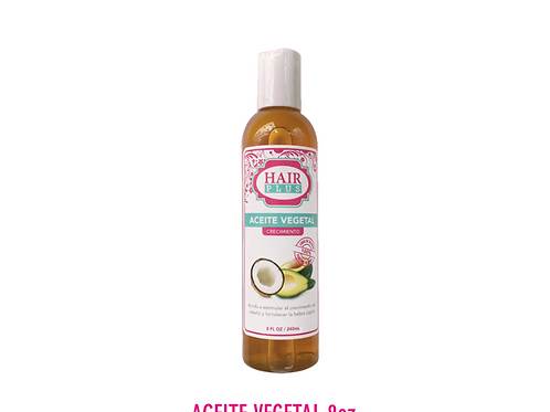 HAIR PLUS ACEITE VEGETAL