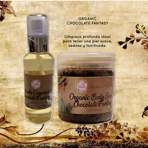 Chocolate fantasy scrub & aceite