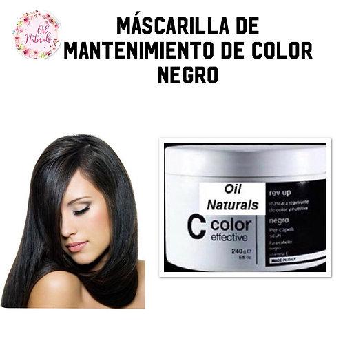 MASCARILLA MANTENIMIENTO DE COLOR NEGRO