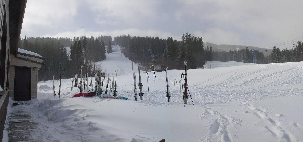 hill skis