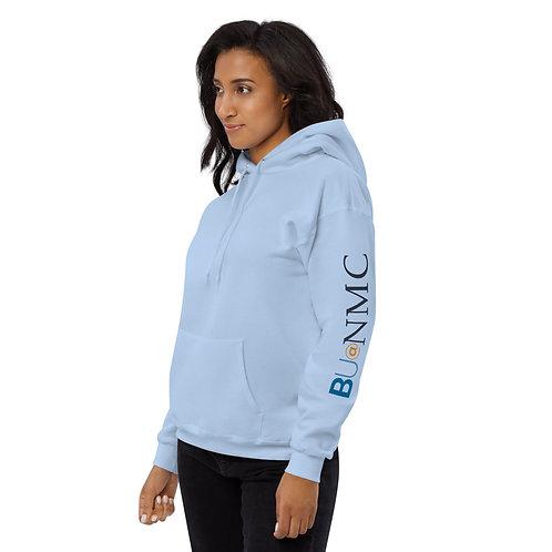 BU@NMC Light Blue Heavy Unisex fleece hoodie