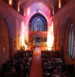 Inside St James Church