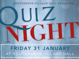 Quiz Night - Fri 31 January