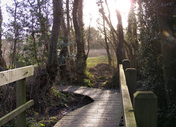 Bridge on Southrepps Common