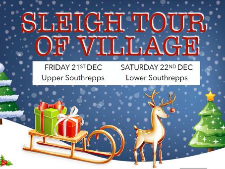 Sleigh Tour of Village