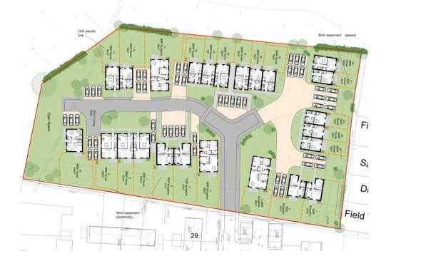 Lang Lane Housing Proposal - 24 dwellings