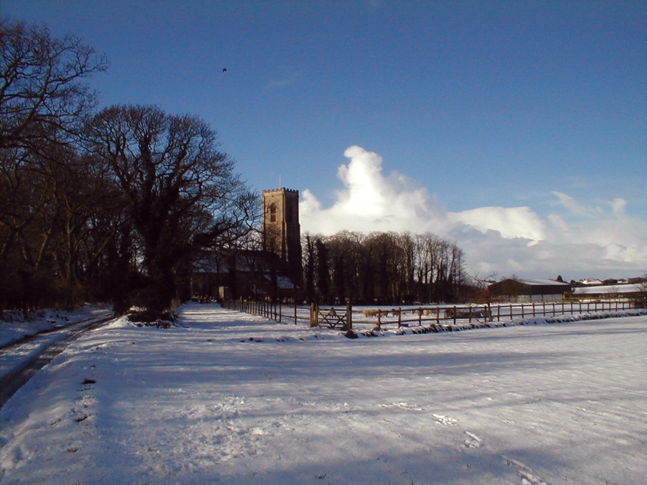 St James Church, Southrepps Winter