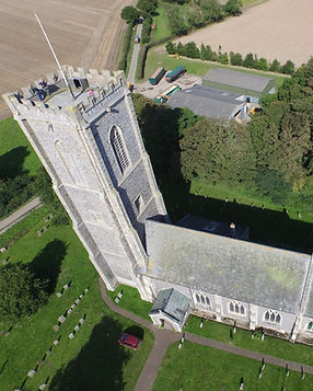 st James Church - Ariel View - James Hor