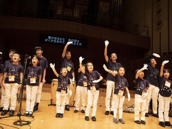 Children from Japan #1 Tokyo White Hand Chorus