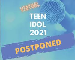 Teen Idol 2021 Postponed