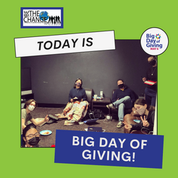 BIG DAY OF GIVING IS TODAY!!