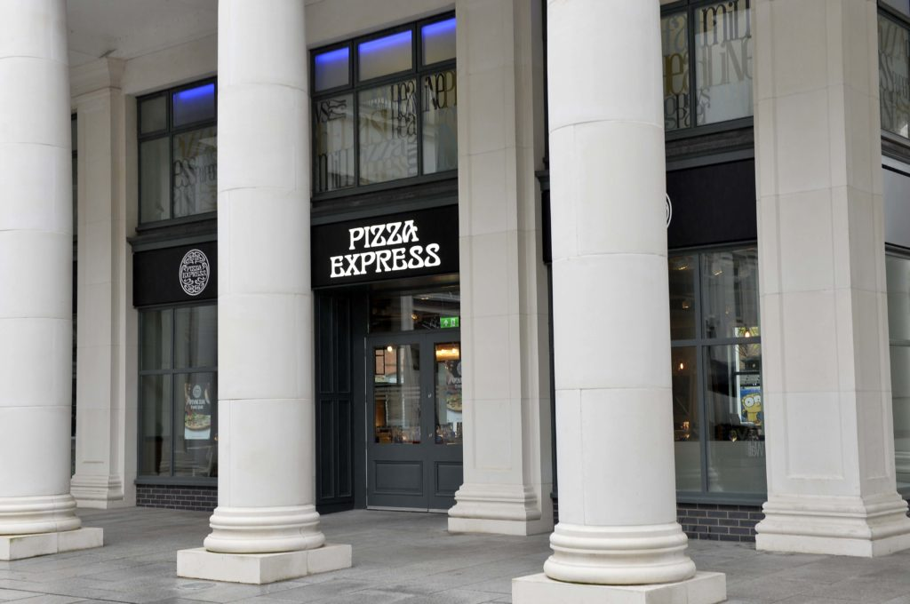 A Smashing Time At Pizza Express
