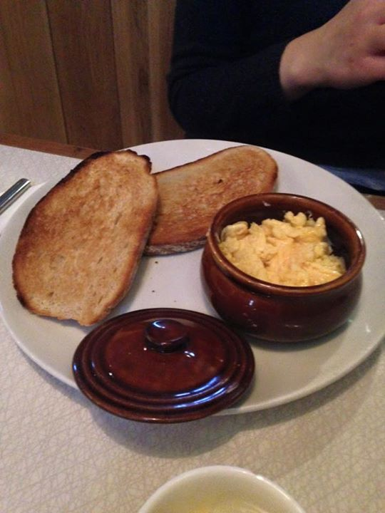 Scrambled Eggs £3.95