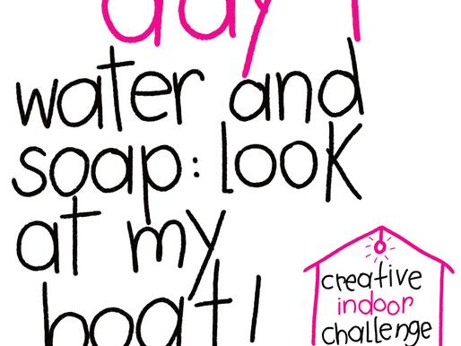 #creativeindoorchallenge • day 01
