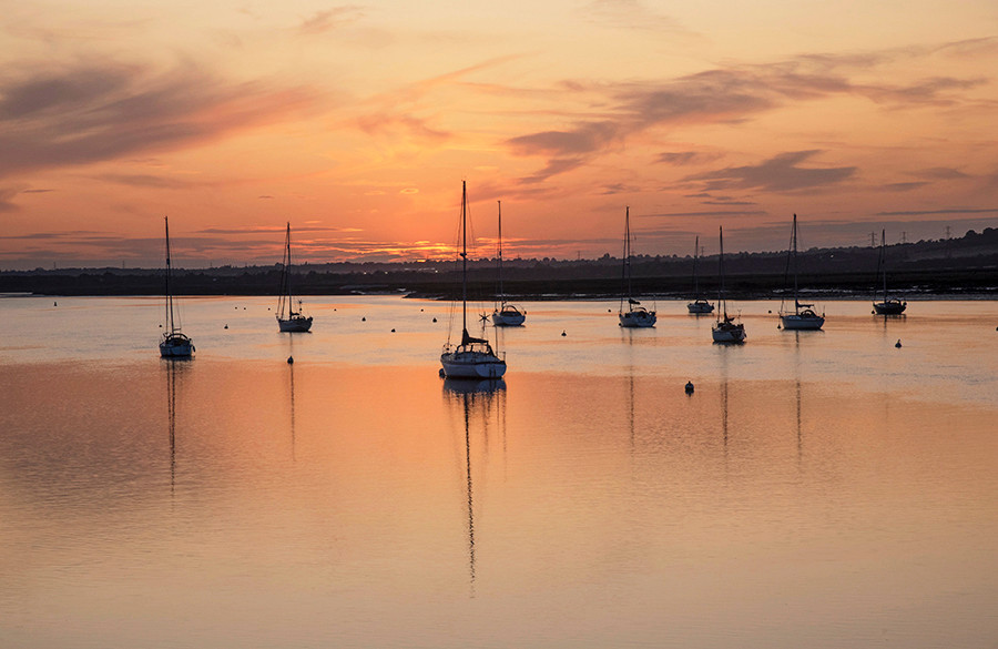 River Crouch Sunset View