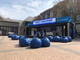TWEET MACHINE STANDARD BANK
