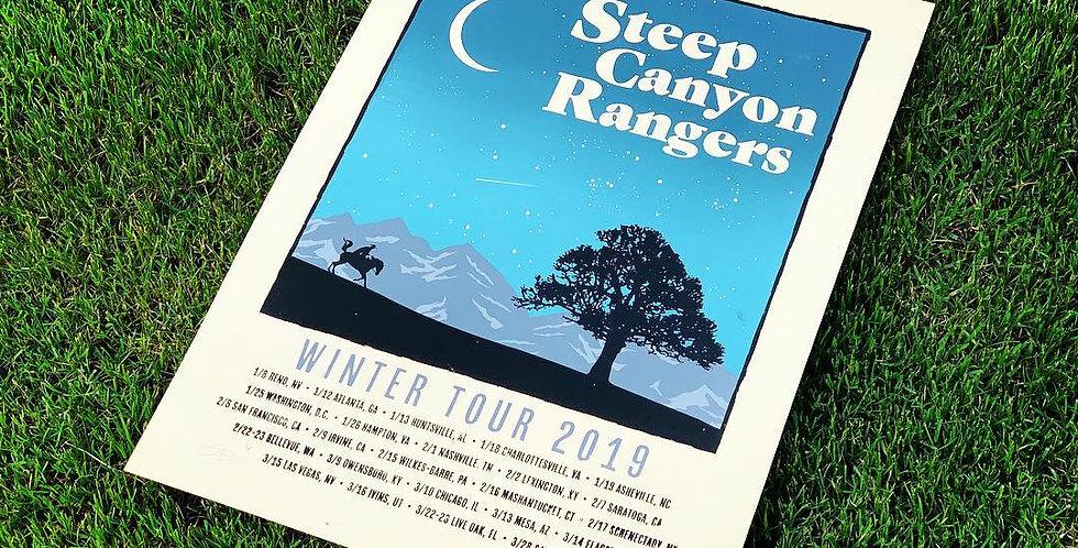 STEEP CANYON RANGERS - WINTER TOUR 2019 (ARTIST'S EDITION)
