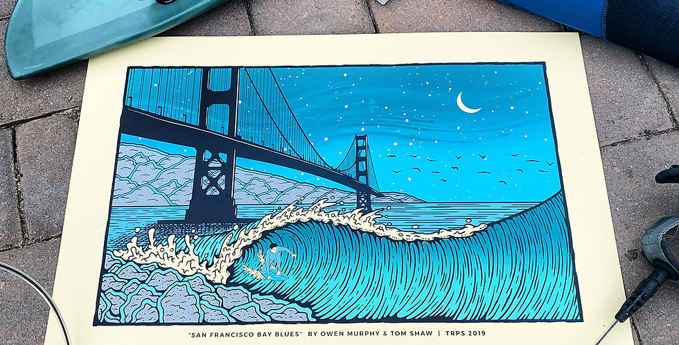 """SAN FRANCISCO BAY BLUES"""