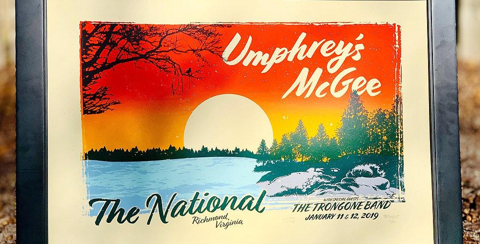 UMPHREY'S McGEE - RICHMOND (BRIDGELESS VARIANT)