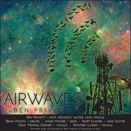 "Digital graphic for Ben Privott's song ""Airwaves"", 2017. RIP, Ben."