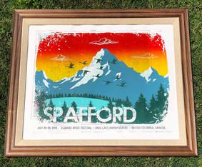 Spafford - British Columbia (Topographic Map)