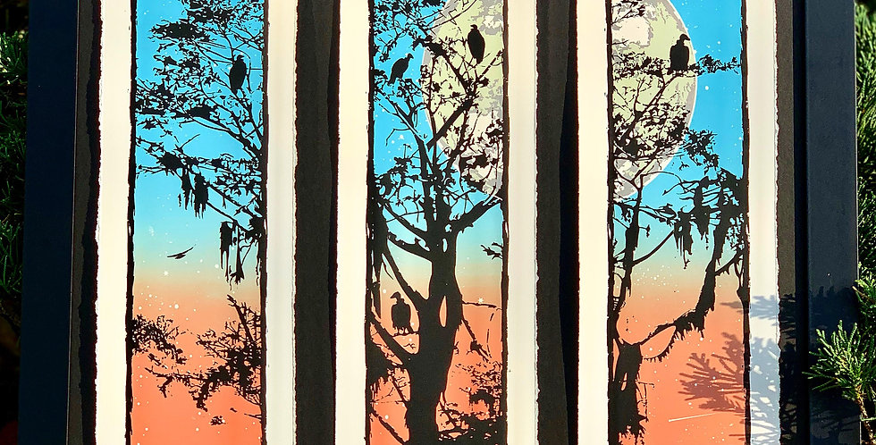 """AN EVENING ROOST"" TRIPTYCH"