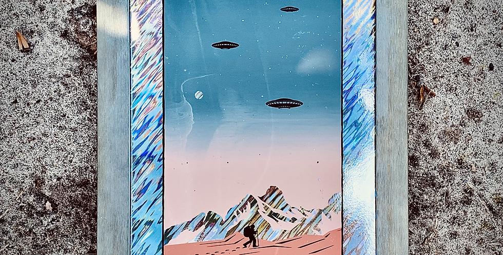 """""""LIFE ON MARS?"""" LAVA FOIL VARIANT"""