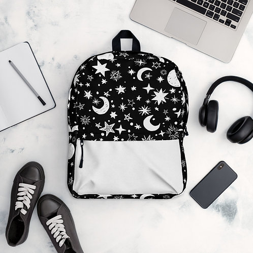 Moon and Star Backpack